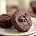 100% Whole Wheat Double Chocolate Chip Muffins
