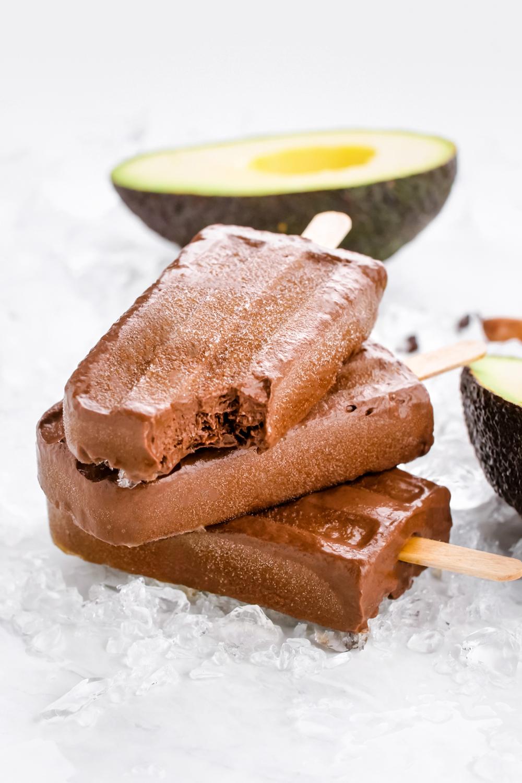 Chocolate Popsicles Paleo Vegan