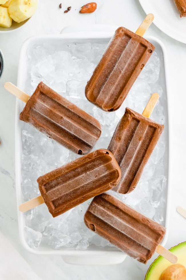Healthy and easy fudgesicles that are super creamy, rich and full of good for you ingredients! Can be made paleo / vegan.