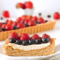 Greek Yogurt Berry Cookie Tart (100% whole grain option)