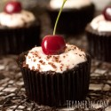 Black Forest Cupcakes (grain-free, gluten-free, dairy-free)