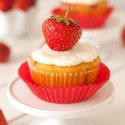 Strawberry Cupcakes (grain-free, gluten-free)