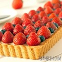 Greek Yogurt Berry Cookie Tart