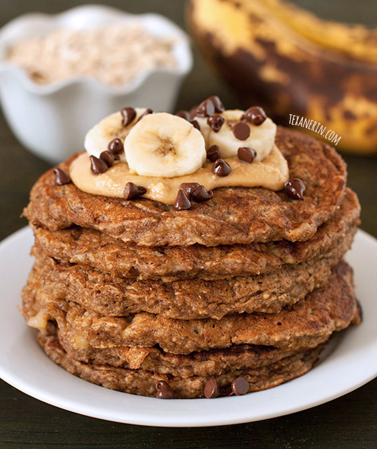 Banana Pancakes gluten free 100 whole grain dairy free