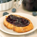 Blueberry Ginger Jam (dairy-free, vegan option, honey sweetened)