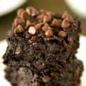 Chocolate Zucchini Brownies (100% whole grain, dairy-free)