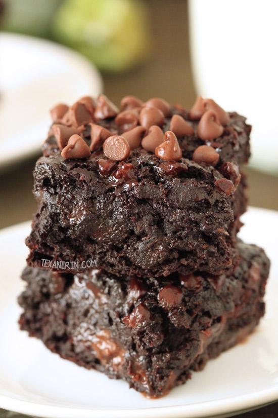 Chocolate Zucchini Brownies 100 Whole Grain Dairy Free