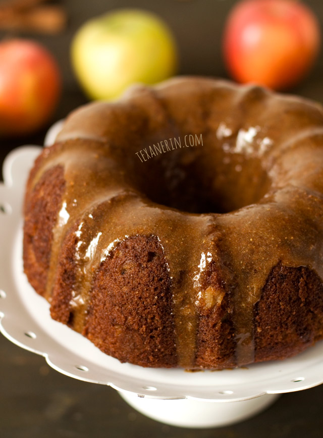Glazed Apple Cakes With Cinnamon Sugar Recipe — Dishmaps