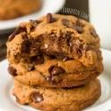 Healthier New York Times Chocolate Chip Cookies (100% whole grain, dairy-free)