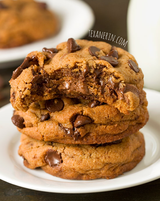 Healthier New York Times Chocolate Chip Cookies – although these are ...