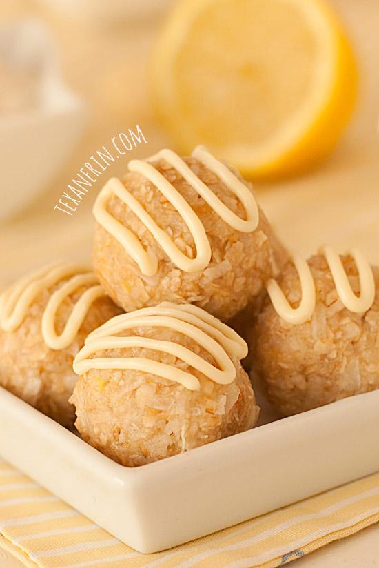 Gluten-free coconut balls | texanerin.com