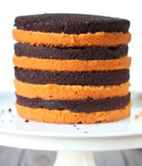 This Halloween cake is made a little healthier with whole grains! | texanerin.com