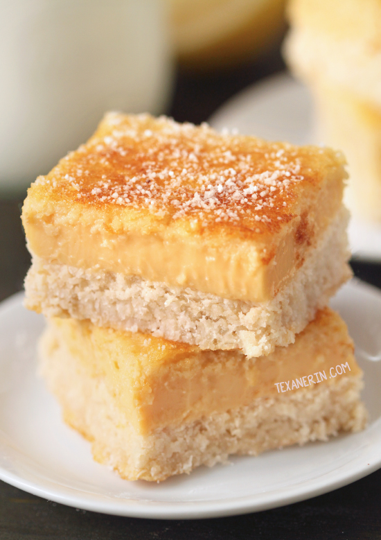 Paleo Lemon Bars {maple sweetened, grain-free, gluten-free and dairy-free}