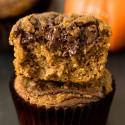 Pumpkin Spice Latte Nutella Muffins (grain-free, dairy-free)