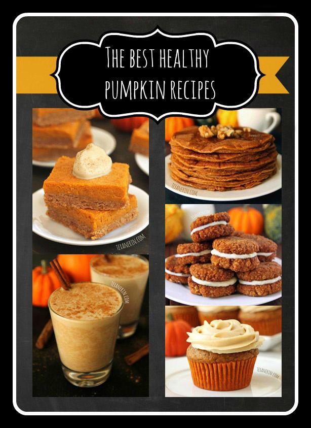 The best healthy pumpkin recipes! | texanerin.com