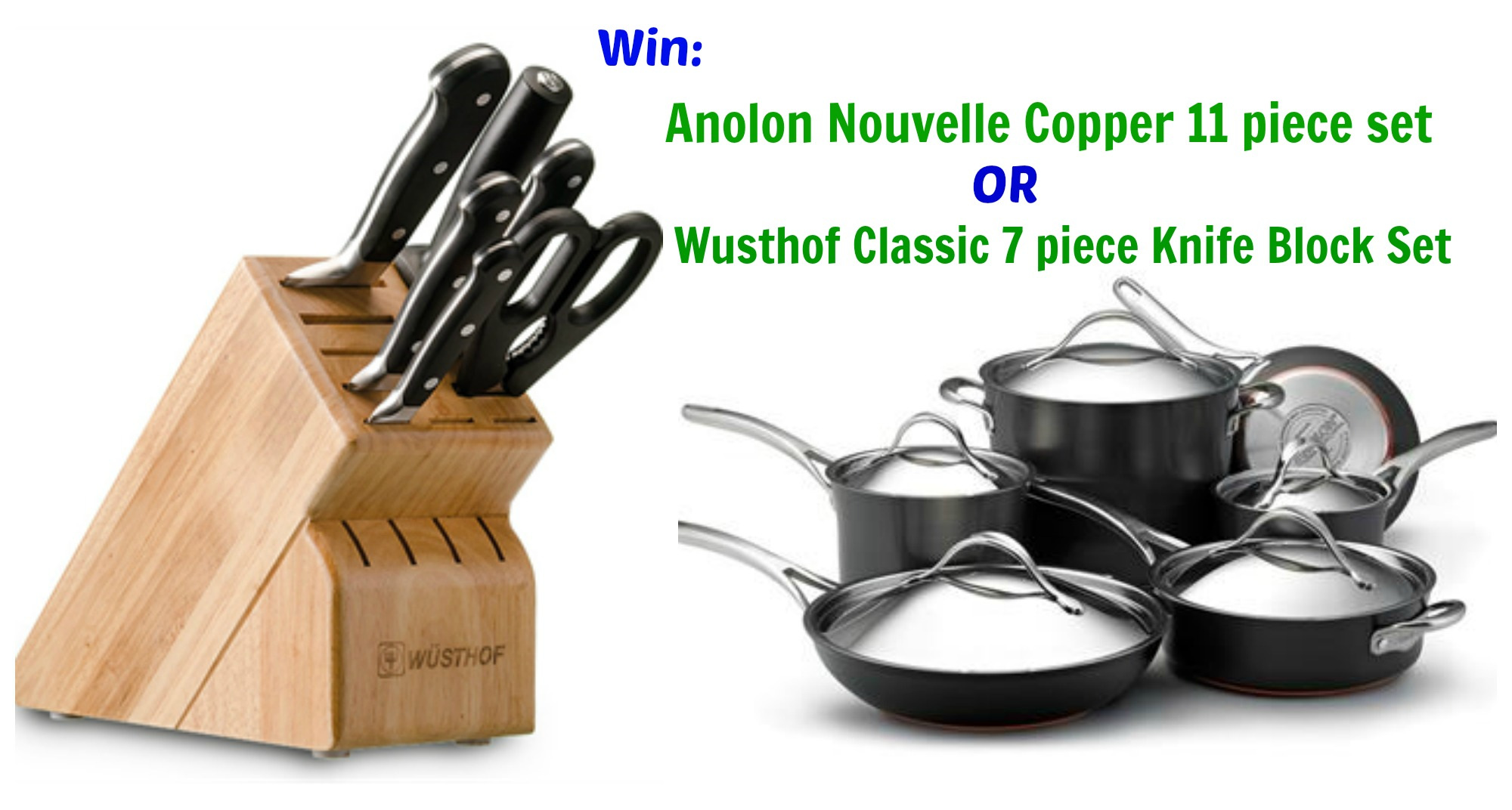 Anolon + Wusthof giveaway!