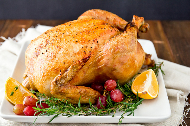 Salted Turkey with Citrus Herbs