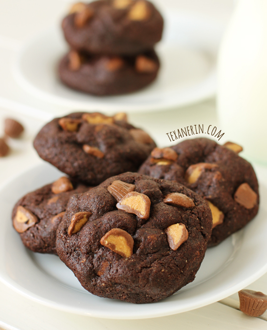 Chocolate Peanut Butter Cup Cookies from texanerin.com – made ...
