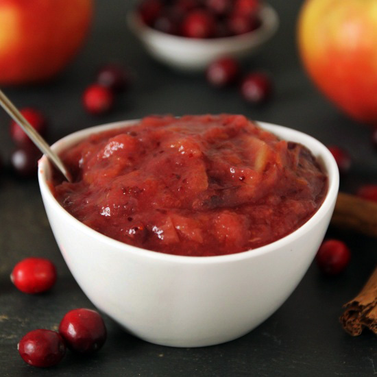 Cranberry Applesauce | texanerin.com