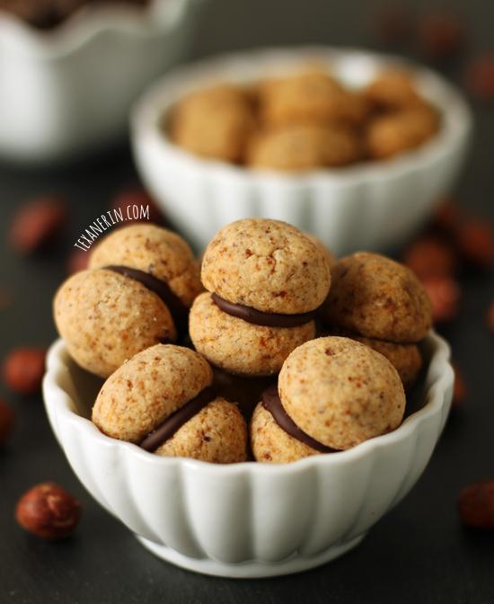 Baci di Dama Italian Cookies from texanerin.com