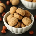 Baci di Dama Italian Cookies (gluten-free, whole wheat options)