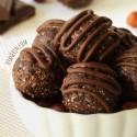 Chocolate Hazelnut Fudge Bites (paleo, grain-free, gluten-free, dairy-free, vegan)