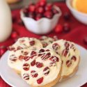 Cranberry Bliss Cookies (whole grain option)