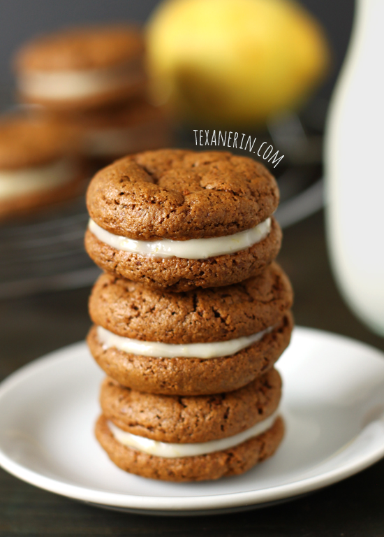 Gingersnap Sandwich Cookies With Lemon Filling Recipes — Dishmaps