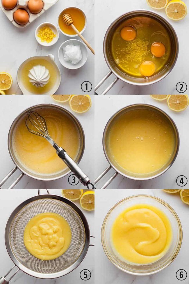 Paleo Lemon Curd – honey sweetened and uses whole eggs!