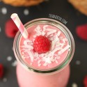 Raspberry Coconut Smoothie (dairy-free, vegan)