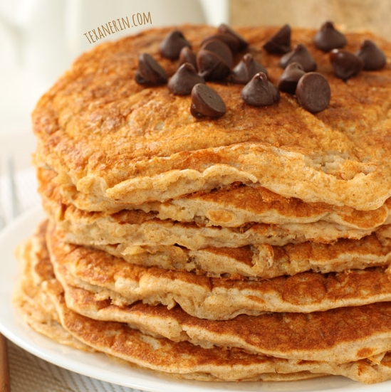100% Whole Grain Pancake Mix – these whole wheat pancakes don't ...