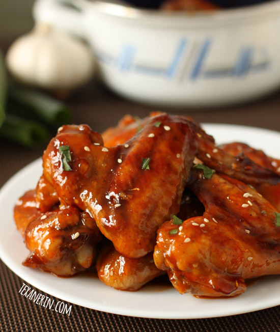 Baked Sriracha Chicken Wings