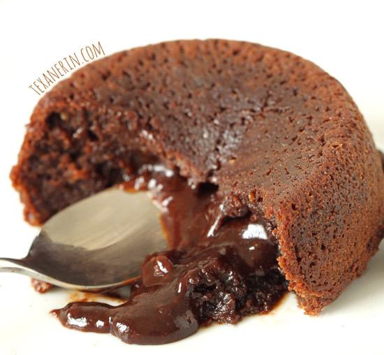 Healthier Molten Lava Cakes for Two (100% whole grain, dairy-free ...