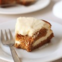 Healthier Carrot Cake Cheesecake (whole grain)