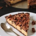 Healthier No-bake Peanut Butter Pie (grain-free)