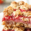 Strawberry Oat Bars (vegan, dairy-free, whole grain)