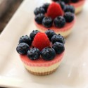Raw Mini Mascarpone Berry Cakes (grain-free, gluten-free, refined sugar-free)