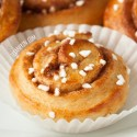 Whole Wheat Kanelbullar (Swedish Cinnamon Buns)