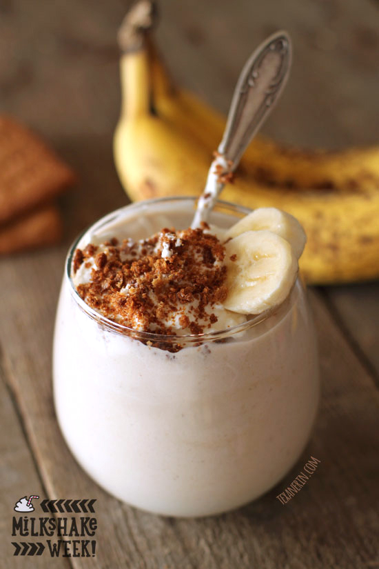 Banana Cream Pie Milkshake – with dairy-free, vegan, grain-free ...