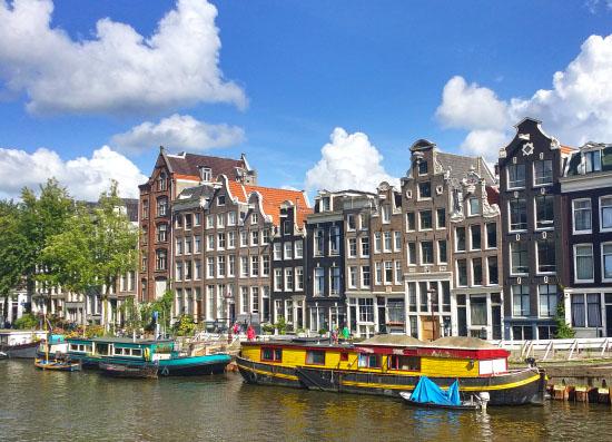 Cute Houses in Amsterdam
