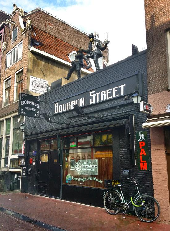 Bourbon Street in Amsterdam