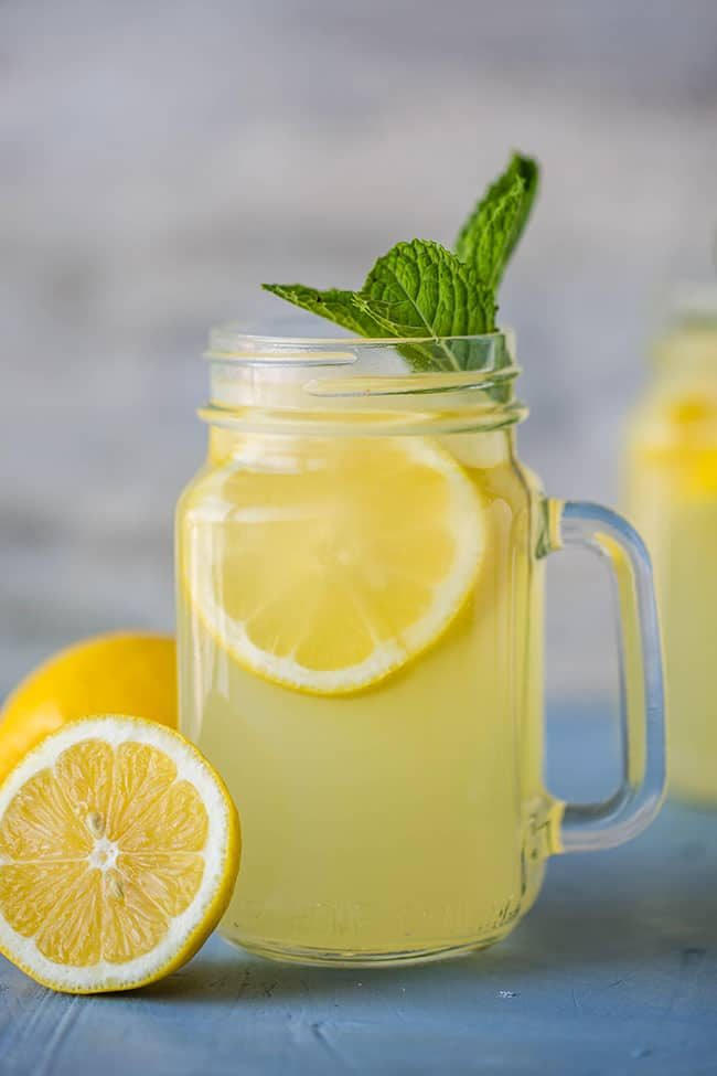 This lightly honey-sweetened lemonade is a breeze to make and is a great way to get rid of an overabundance of lemons!