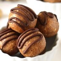peanut butter banana fudge balls 2