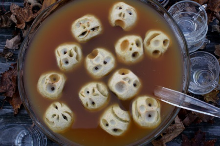 Shrunken heads in apple cider