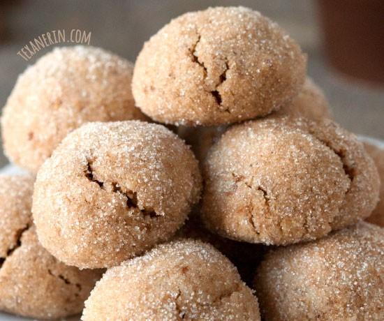 Chai Spiced Cookies (grain-free, gluten-free, dairy-free)
