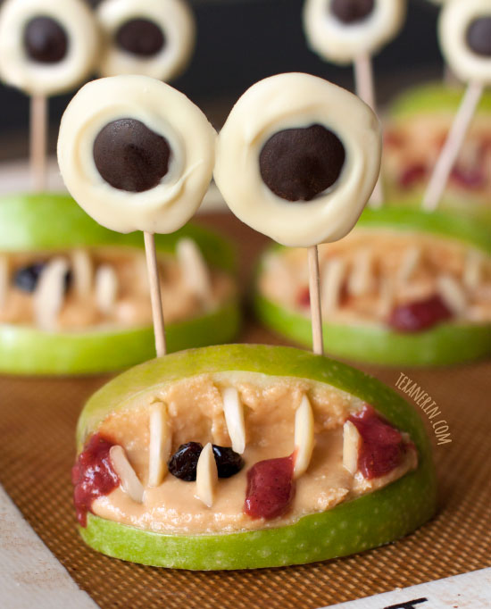 Healthy Halloween Monster Mouths (paleo, grain-free, gluten-free, dairy-free)