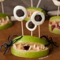 Healthy Halloween Monster Mouths (paleo, vegan)