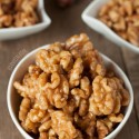 Healthier Maple Candied Walnuts