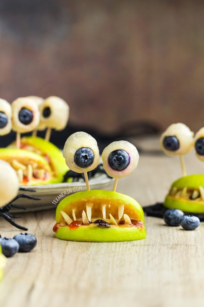 Healthy Halloween Monster Mouths