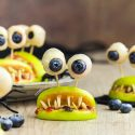 Healthy Halloween Treats – Monster Mouths (paleo, vegan)